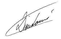 Signature Stéphane Dieudonné