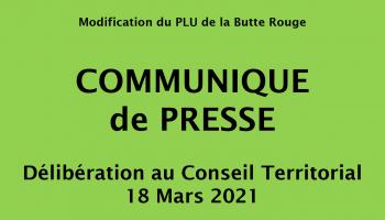Communiqué de Presse 18 Mars 2021