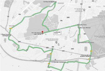 Tour de vélo à la découverte de Chatenay-ccc